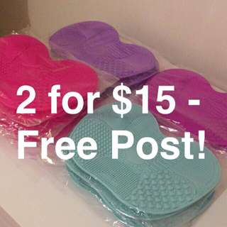Free Post! Makeup Brush Cleaning Mat!