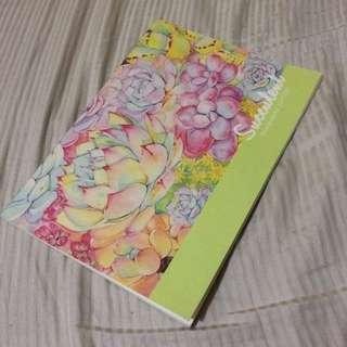 Succulent Joytop Notebook