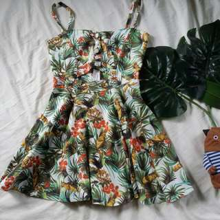 Tropical Skater Skirt