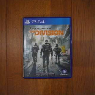 PS4 The Division (Tom Clancy's)