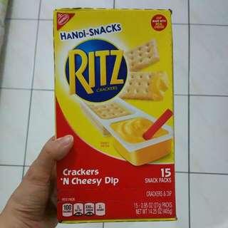 Handi-snacks Ritz Crackers