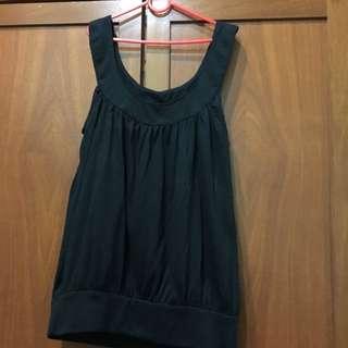 Black Sleeveless Top (cotton On)