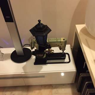 Singer Sewing Machine Converted To Lamp.