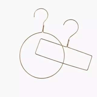 「s.Llu」預購:印度製 黃銅圍巾架/領帶架