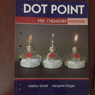 Dot point HSC Chemisty