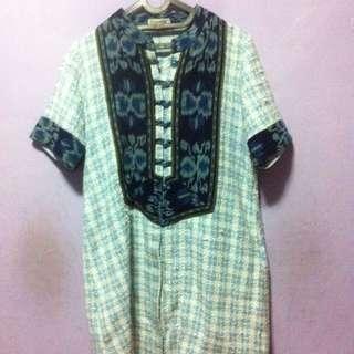 Dress Batik Tenun