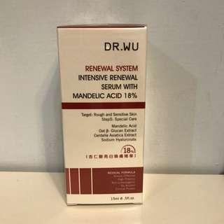 Dr Wu 杏仁酸亮白煥膚精華18%