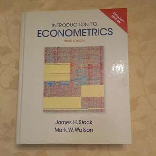 Introduction To Econometrics 3rd Ed.