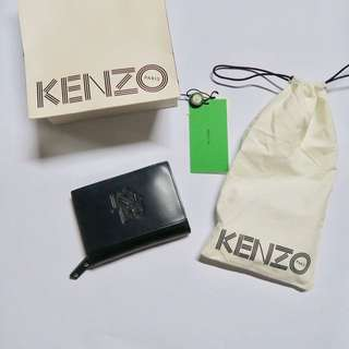 REPRICE - Kenzo  Paris New York Zipped Wallet