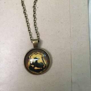 Harry Potter Hufflepuff Necklave