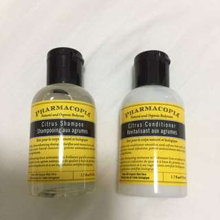 Brand New Unopened Pharmacopia Shampoo And Conditioner