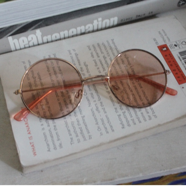 70s Rose Coloured Sunnies