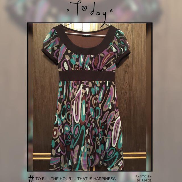 專櫃幾何洋裝