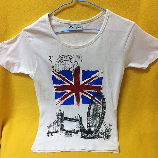 在倫敦買的衣服