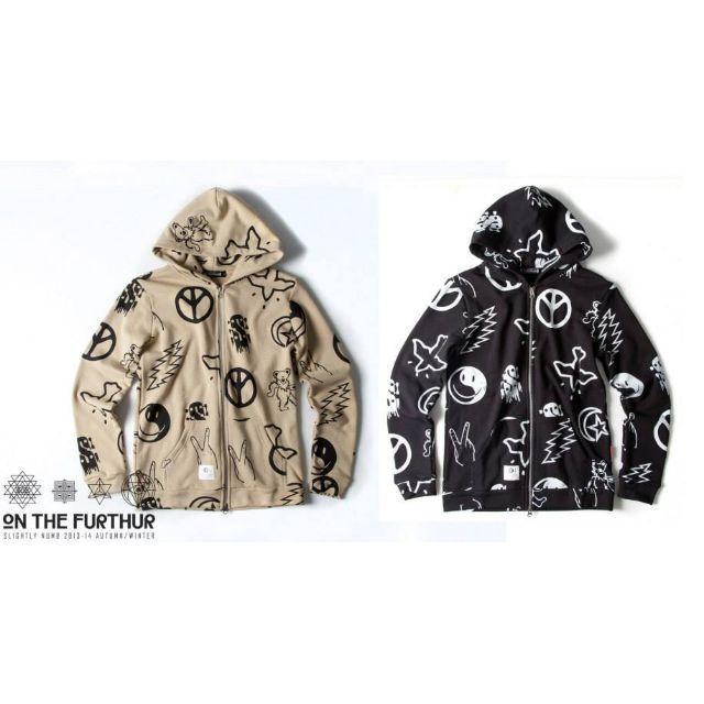 <全新> Slightly Numb 2013AW TRAMPER ZIP PARKA 連帽外套 原價$2580
