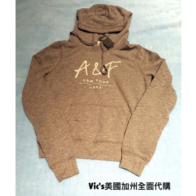 Abercrombie (AF) 灰色帽踢 Size:XS