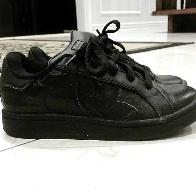 Adidas Full Black Running/walking Shoe