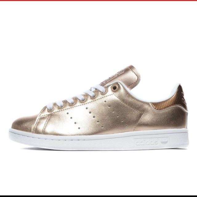 buy popular 5e11f e1028 Adidas Originals Stan Smith Perforated Women's In Rose Gold US7.5