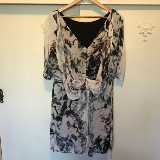 Alannah Hill Silk Print Dress