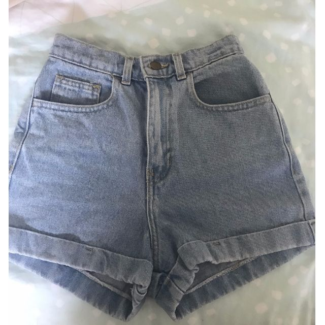 American Apparel High Waisted Shorts - XS