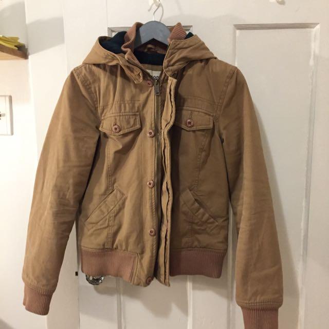 Aritzia Beige Coat