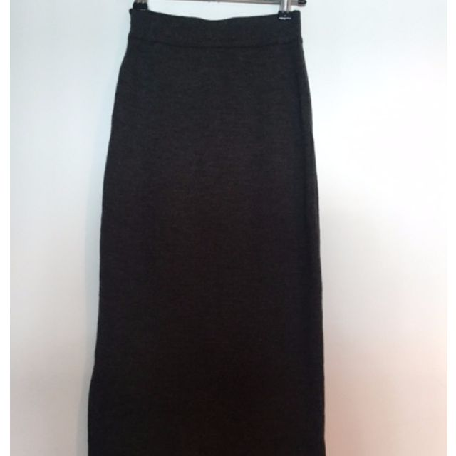 Assembly Label wool pencil skirt side split BRAND NEW 6