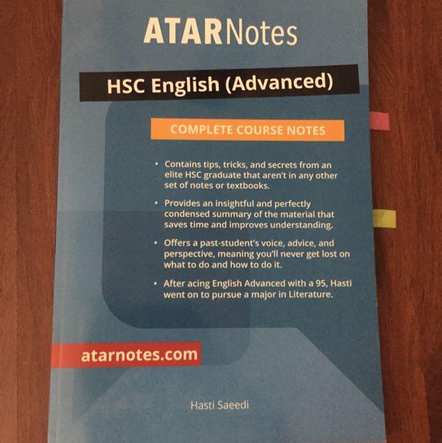 Atar Notes Advanced English