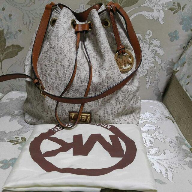 66726a895554 Authentic Mk Michael kors, Women's Fashion, Bags & Wallets on Carousell