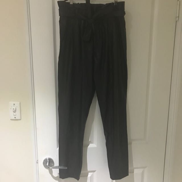 Bardot Size 12 Leather Pants