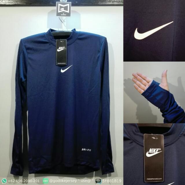 Baselayer / Manset Nike Navy