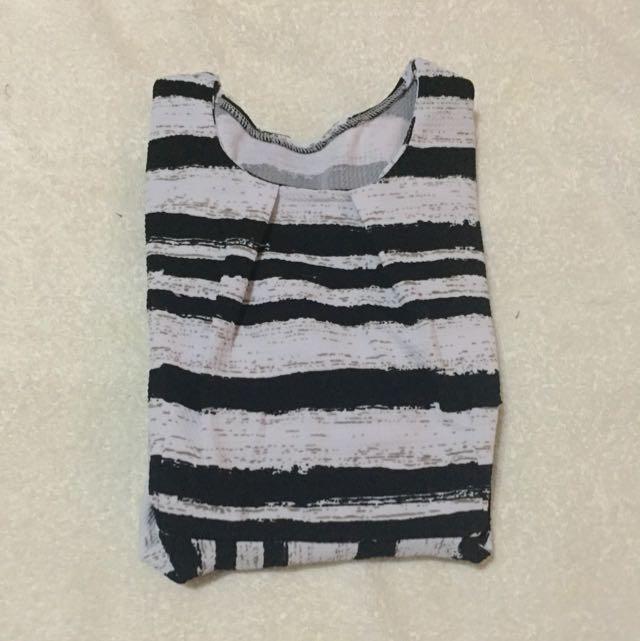 Black & White Maternity Dress