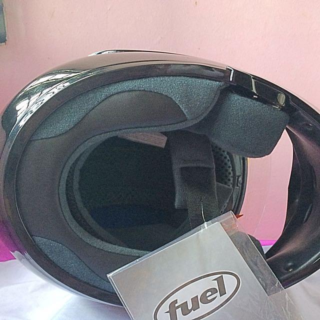Black Gloss Fuel Full Face Helmet