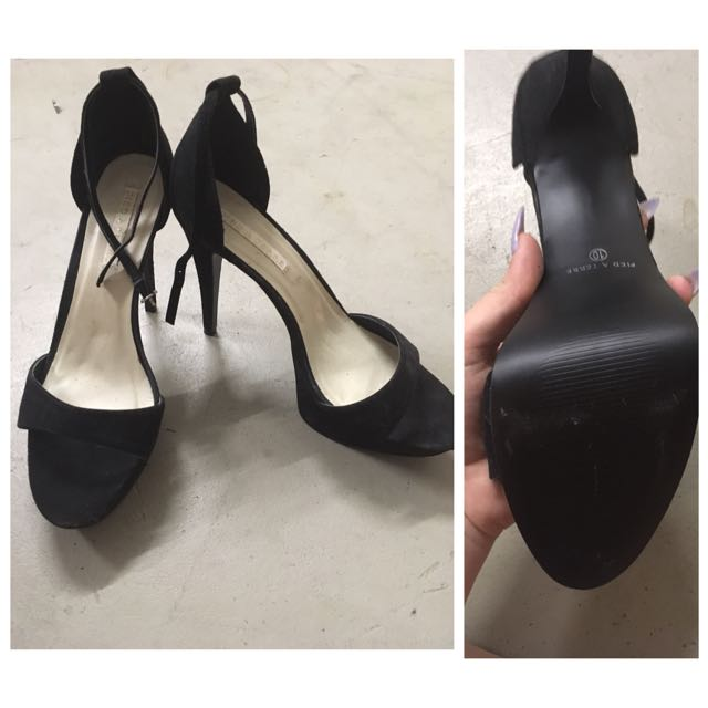 Black Heals Size 10