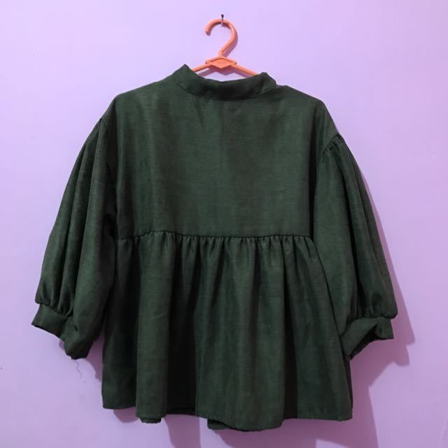 Blouse Green Choe'go By Pk