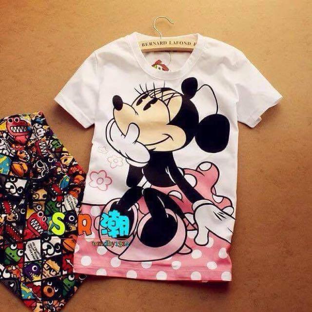 Cartoon Charactered Tshirt