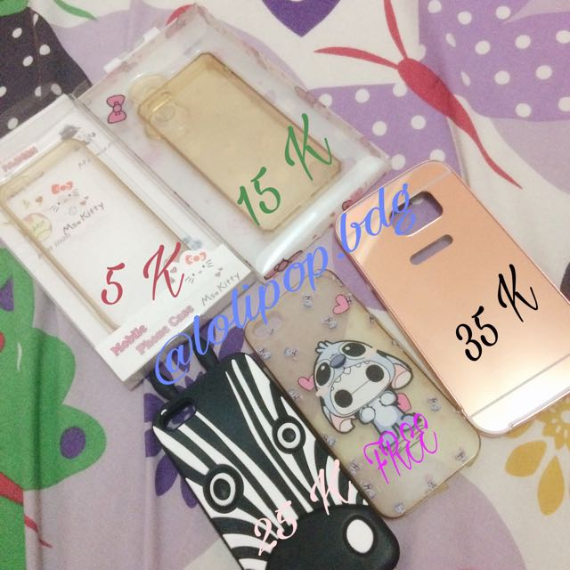 Case Iphone 5 / 5s Samsung S6edge