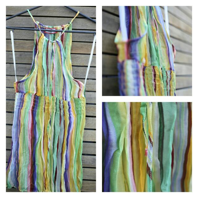 Colorful review top Size 8