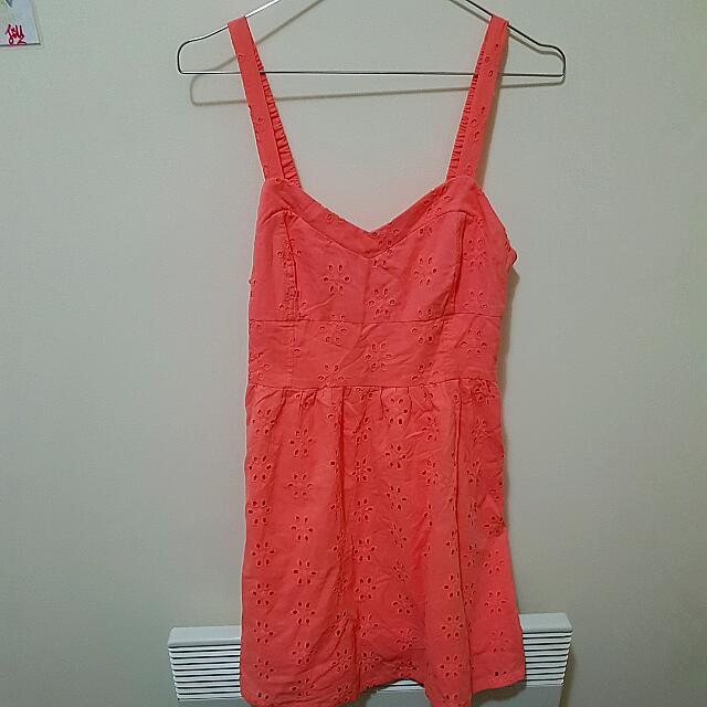 Coral Pink Dress (Jayjays) Size 8