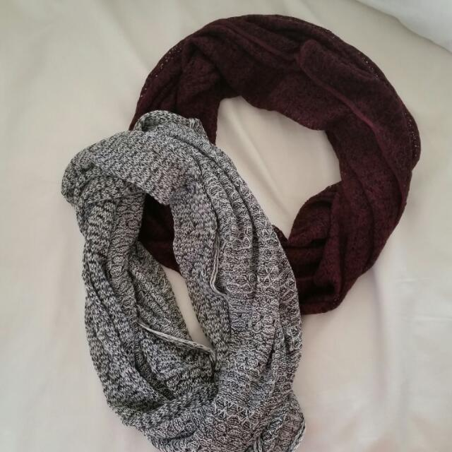 Cotton On Infinity Scarves