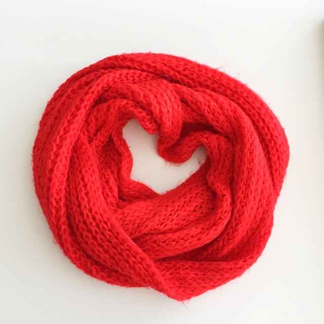 Cotton On Scarf- Red