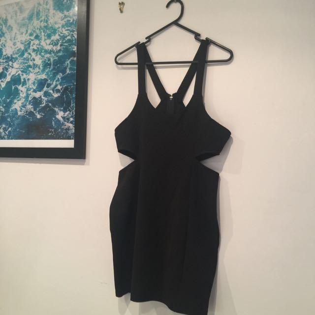 Cut Out MINKPINK black Dress M
