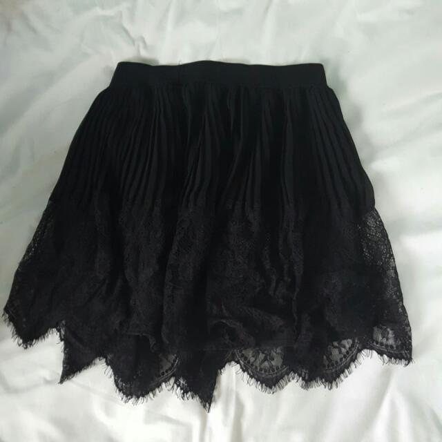 CUTE GIRLY LACE SKIRT