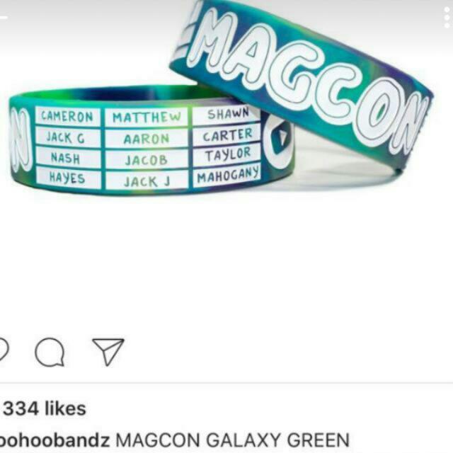 Dicari Gelang Magcon