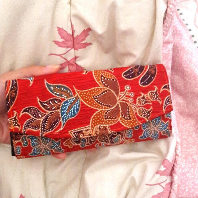Dompet Batik Solo Merah