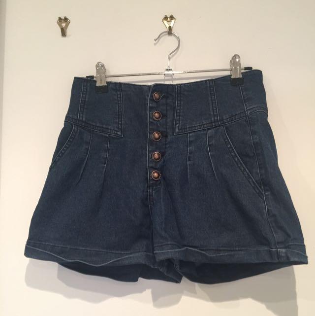 Dotti Size 10 Hi-waisted Demon Shorts