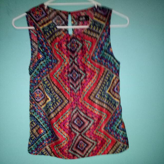Dotti Size Eight Dressy Top