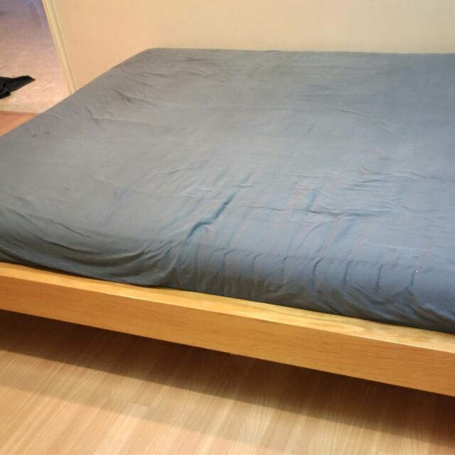 European King Bed Frame And Mattress Size 160cm X 200cm Furniture Beds Mattresses On Carousell