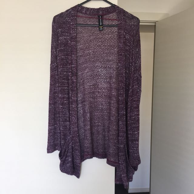 Factorie Made To Be Worn Out Cardi