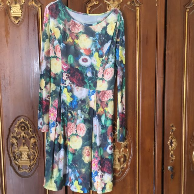 Flowery Dress Mini