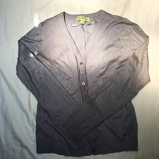 Grey Cardigan- Size S